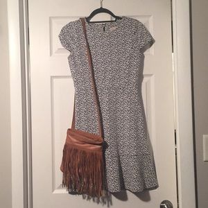MK cap sleeve knit dress